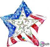 "18"" Stars & stripes Dazzling"