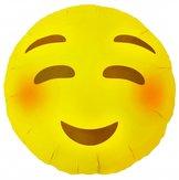"""18"""" Emoji Blushing 46 cm"""