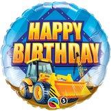 "18"" Birthday Construction Zone 46 cm"