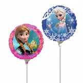 Miniballong  Luftfylld - Frost, Anna och Elsa  23 cm