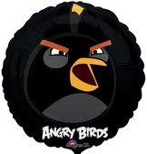 "18"" Angry Bird Black 45 cm"