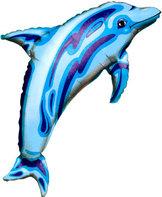 31 tum Delfin Blå - 79 cm